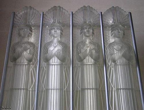 Glas-tableau Glass Church
