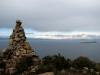 Uitzicht op bergketen Cordillera Real