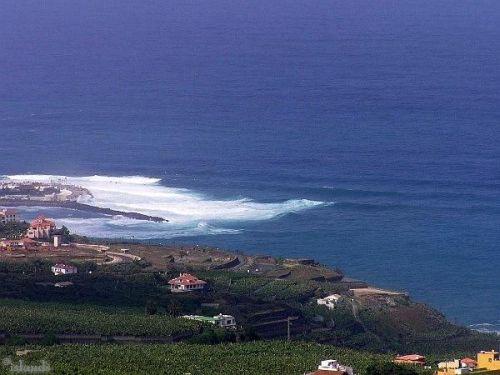 De kust van Tenerife