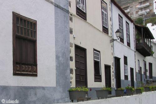Huizen op Tenerife