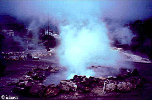 vulkanisme op de Azoren