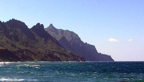 Rotskust Tenerife