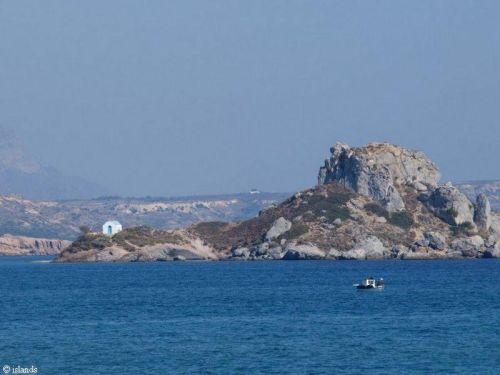 Rotseiland Kastri Griekenland