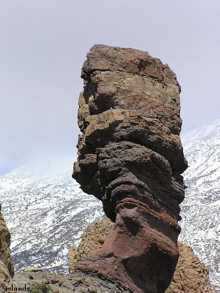 Rots op de Pico el Teide op Tenerife