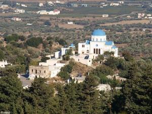 Kerk op het eiland Kos