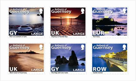 Postzegels Guernsey