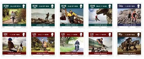Postzegels Isle of Man