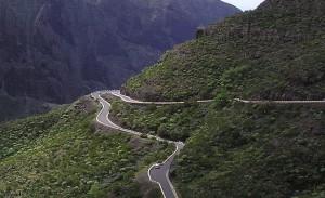 In de bergen van Tenerife