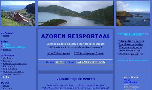 vakantie azoren