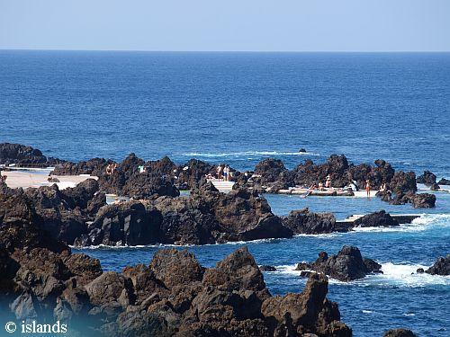 rotsbaden Porto Moniz - Madeira