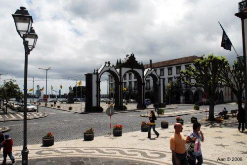 Ponta Delgada op de Azoren