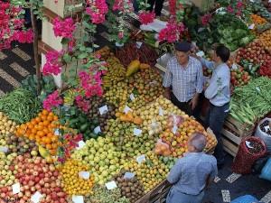 Overdekte markt Madeira