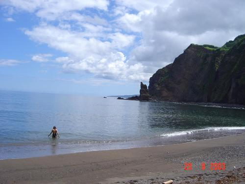Stranden op de Azoren