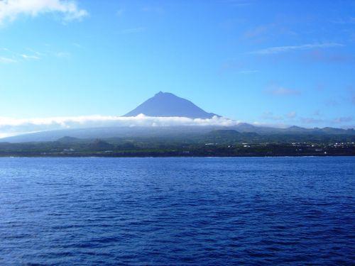 Pico Alto op eiland Pico