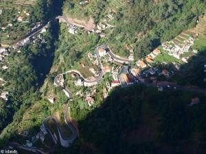 De bochten van Madeira