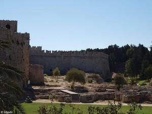 Stadsmuur Rhodos-Stad