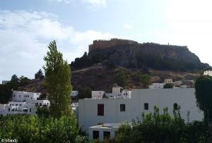 Lindos met Acropolis