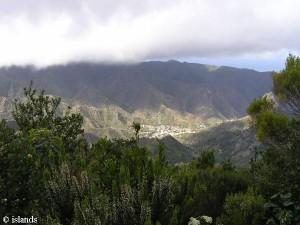 Dorp op La Gomera
