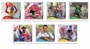 Postzegels Mark Cavendish