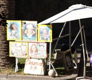 kraampje straattekenaar