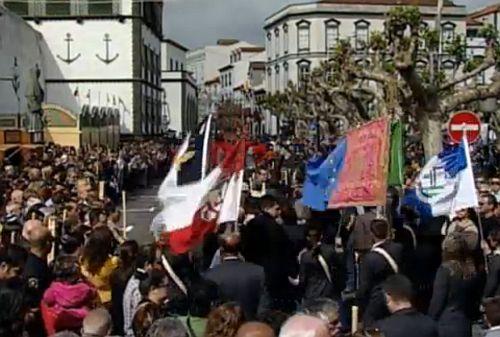 Feest op de Azoren