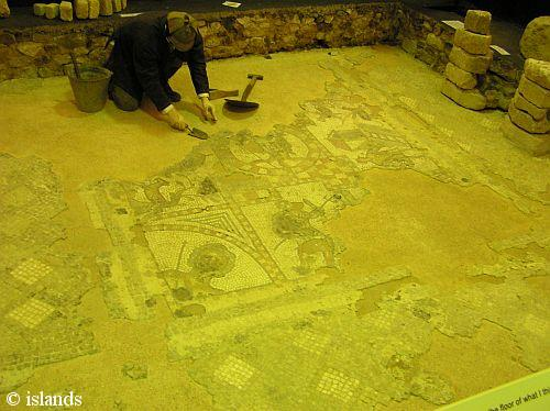 Mozaïeken Roman Villa