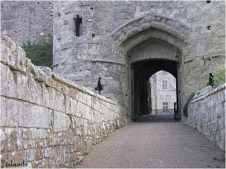 Ingang kasteel