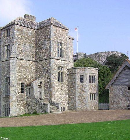 Carisbrooke Castle op het eiland Wight