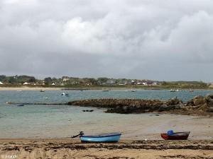Baai op Guernsey