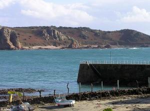 De baai van St. Brelade