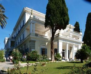 Sissi woonde op Korfoe
