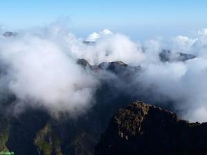 In de wolken van Madeira