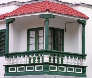 Balkons op Tenerife