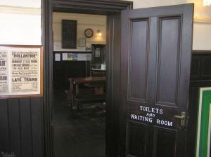 Wachtruimte van station Port Erin