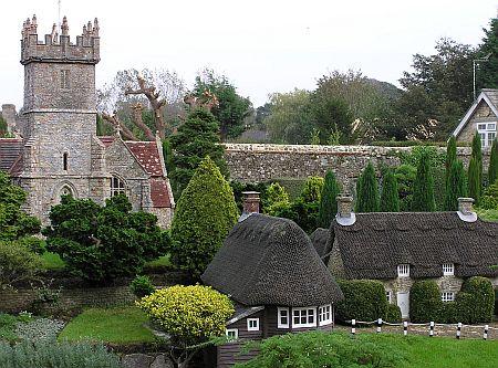 EIland Wight in miniatuur