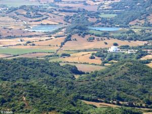 Landschap van Menorca