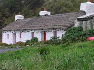 Cottages op het eiland Man