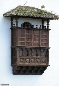 De balkons van Tenerife