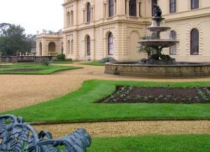 De tuinen van Osborne House