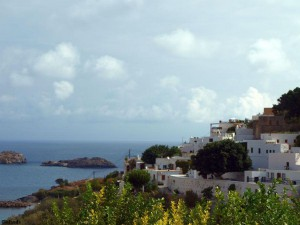 Lindos op het eiland Rhodos