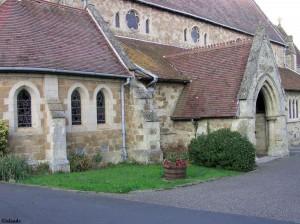 De kerk van Shanklin