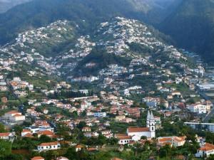 Zicht op Funchal