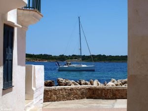 Zeilen bij Menorca
