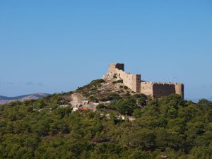 De ruïne van Kastellos