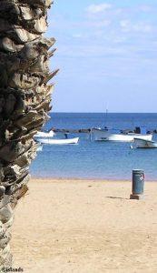 Strand op Tenerife