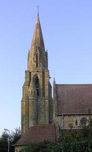 De kerk op de klif