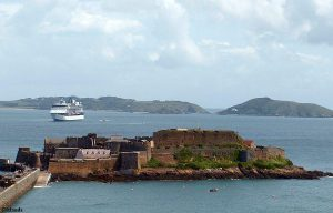 Castle Cornet op het Kanaaleiland Guernsey