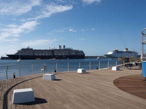 Cruiseschepen op Madeira