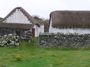 Boerderij op het eiland Man