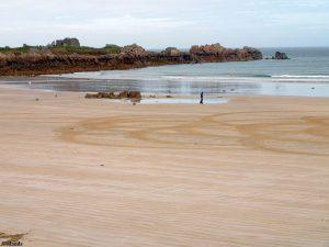 Het strand van Pembroke Bay